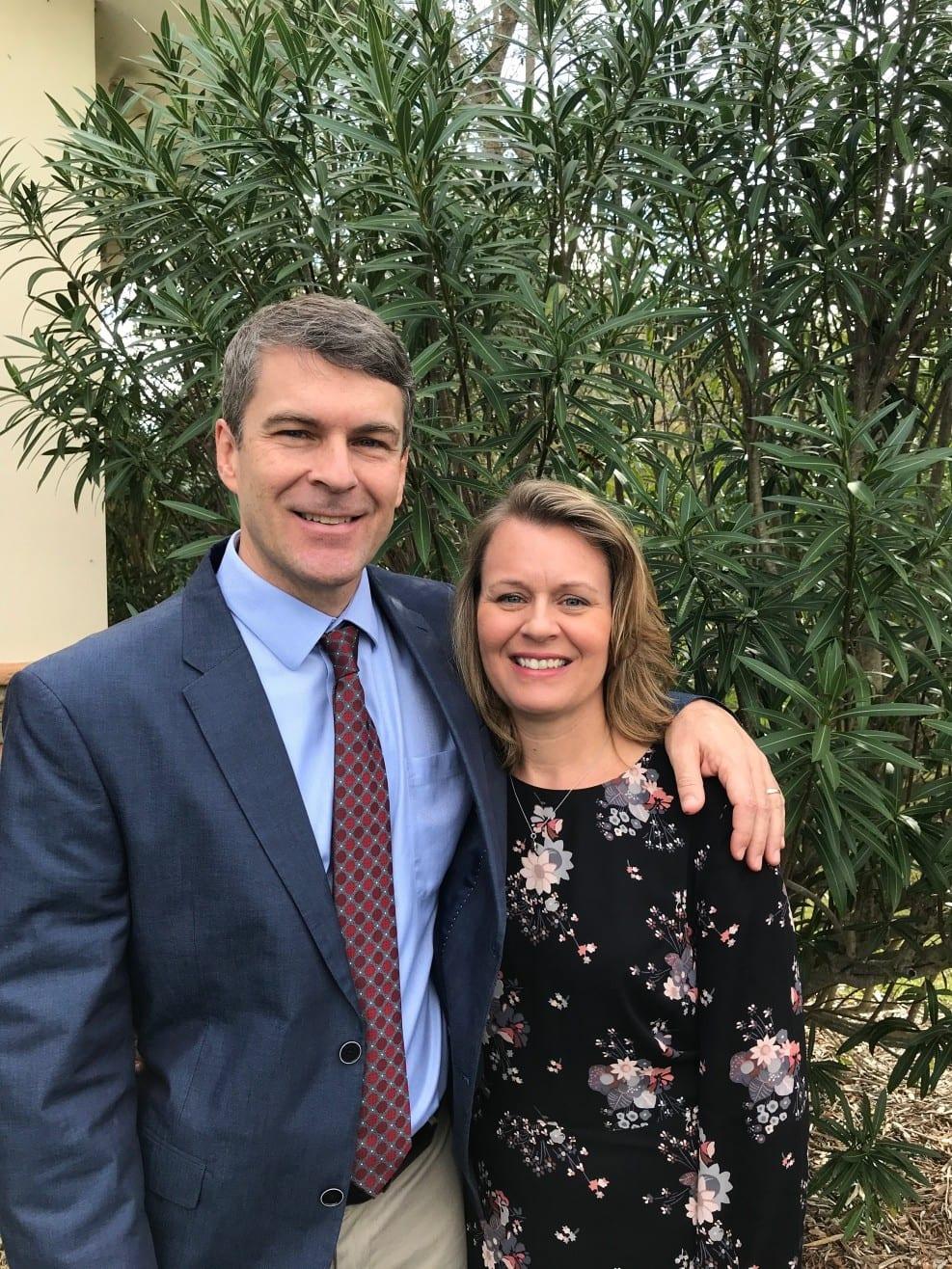 Karl and Julie Johnson, Managing Directors